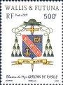 18 février 2011 - 500 francs - Blason de Mgr Ghislain De Rasilly