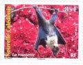 6 novembre 2013 - Paysages et animaux de Nouvelle-Calédonie - série de 4 timbres