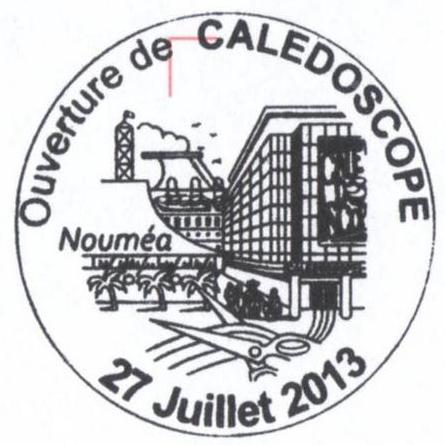 2013 - CALEDOSCOPE - Nouvelle agence philatélique