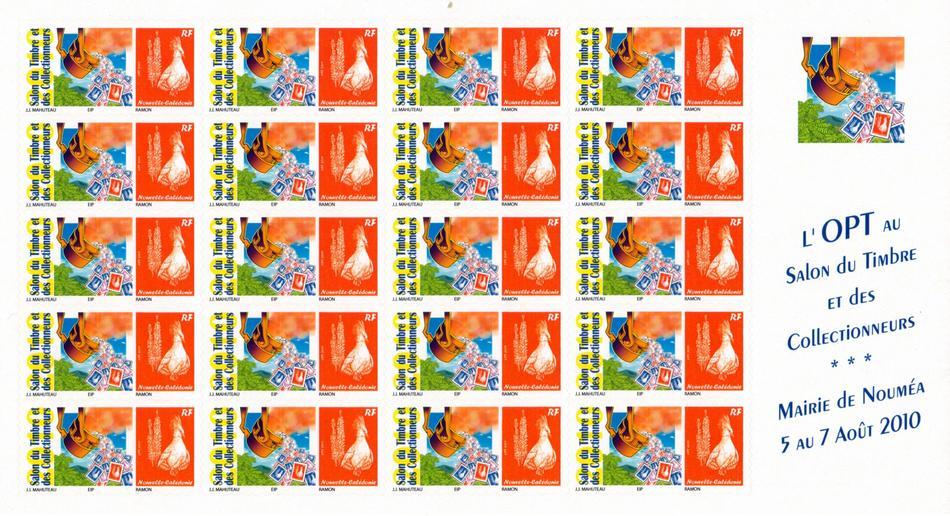 Timbres postes personnalis s public opt nc le cagou for Salon du timbre 2017