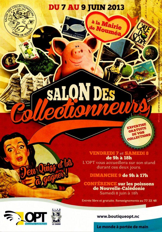 13e salon des collectionneurs noum a le cagou club - Office des postes et telecommunications de nouvelle caledonie ...