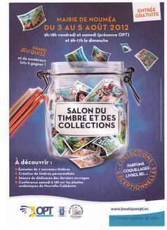 Accueil juillet 2012 salon du timbre noum a annonce for Salon du timbre 2017